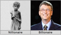 The Nillionaire and the Billionaire