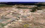 Dorttepe, Bodrum Land - View to west (Google Earth)