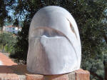 The Beautiful Fatima 3 - A marble sculpture by Cliff Fraser